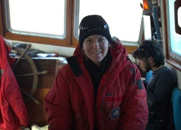 Infinity Expedition-Proudly wearing my used jacket from a previous US Antarctic expedition