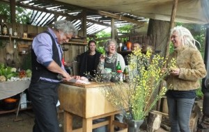 The Green Circle - Workshops in de Natuur - bedrijfs- groeps of familie uitje - workshop oerkoken