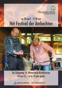 Het Festival der Ambachten 2018 - The Green Circle - Workshops in de Natuur (poster Paul)