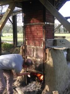 Proefstook Keramiek houtoven The Green Circle - Workshops in de Natuur