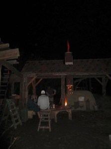 Proefstook nacht Keramiek houtoven The Green Circle - Workshops in de Natuur.jpg