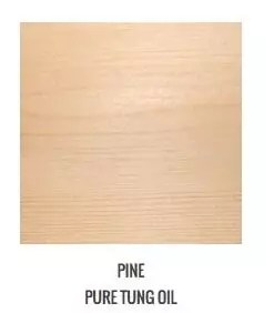 Applying Tung Oil To Pine