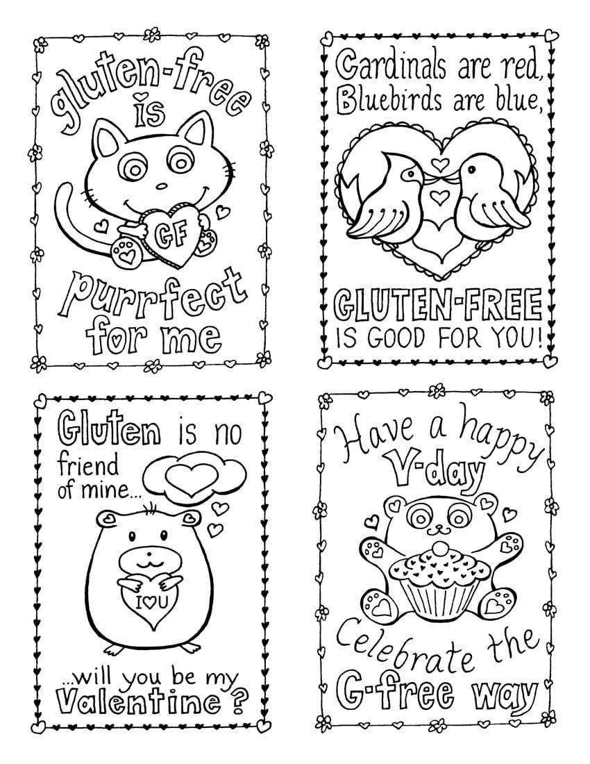 Gluten-Free Valentine's Day Cards, Plus A Mini Kid-Size