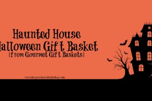 Haunted House Halloween Gift Basket {from Gourmet Gift Baskets}