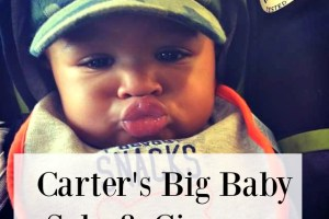 Make Your Way to Carter's Big Baby Sale…