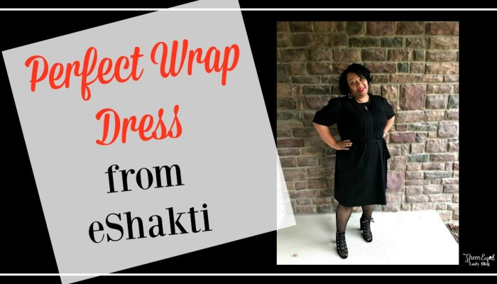 Perfect Wrap Dress from eShakti
