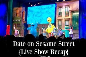 Date on Sesame Street {Live Show Recap}