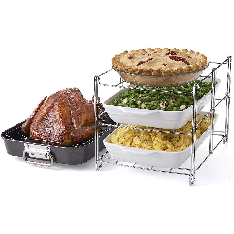 3 tier oven baking rack