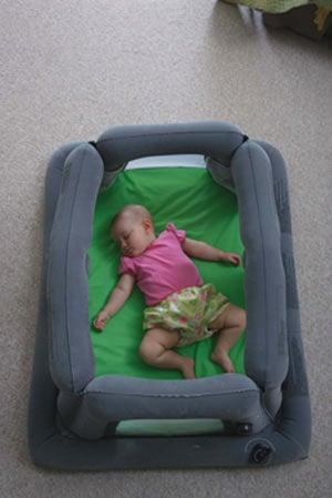 AirCrib  Inflatable Travel Crib