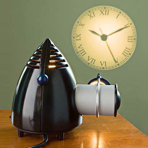 Analog Projection Clock With Working Clock Face  The