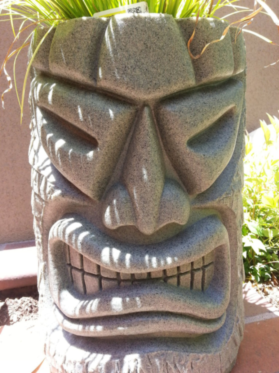 Angry Tiki Planter  The Green Head