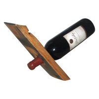 Balancing Wine Bottle Holder - The Green Head