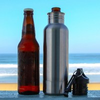 BottleKeeper - Stainless Steel Beer Bottle Holder and ...