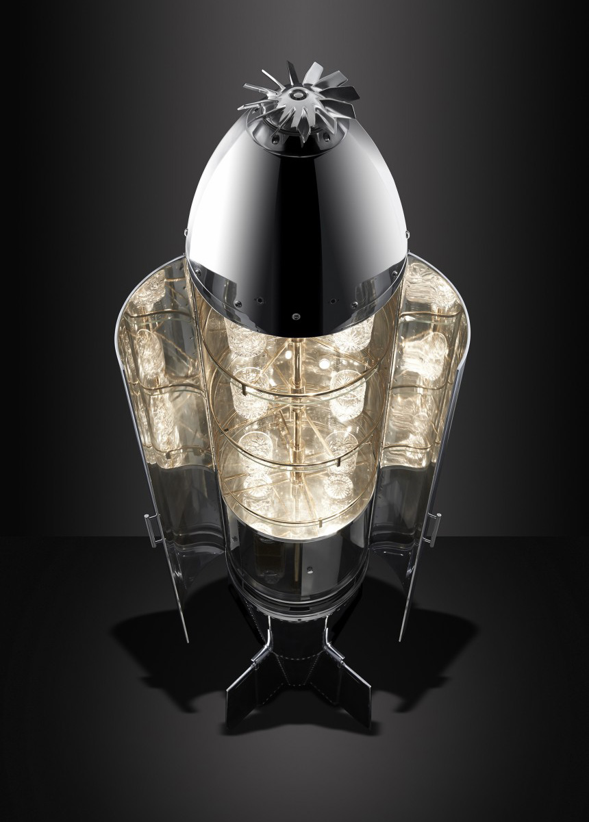 Cluster Bomb Drinks Cabinet