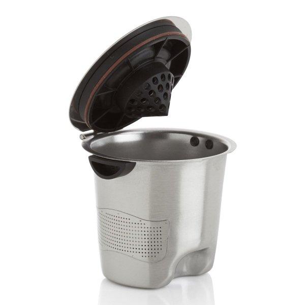 Ekobrew Elite - Reusable Stainless Steel -cup Keurig Brewers Green Head