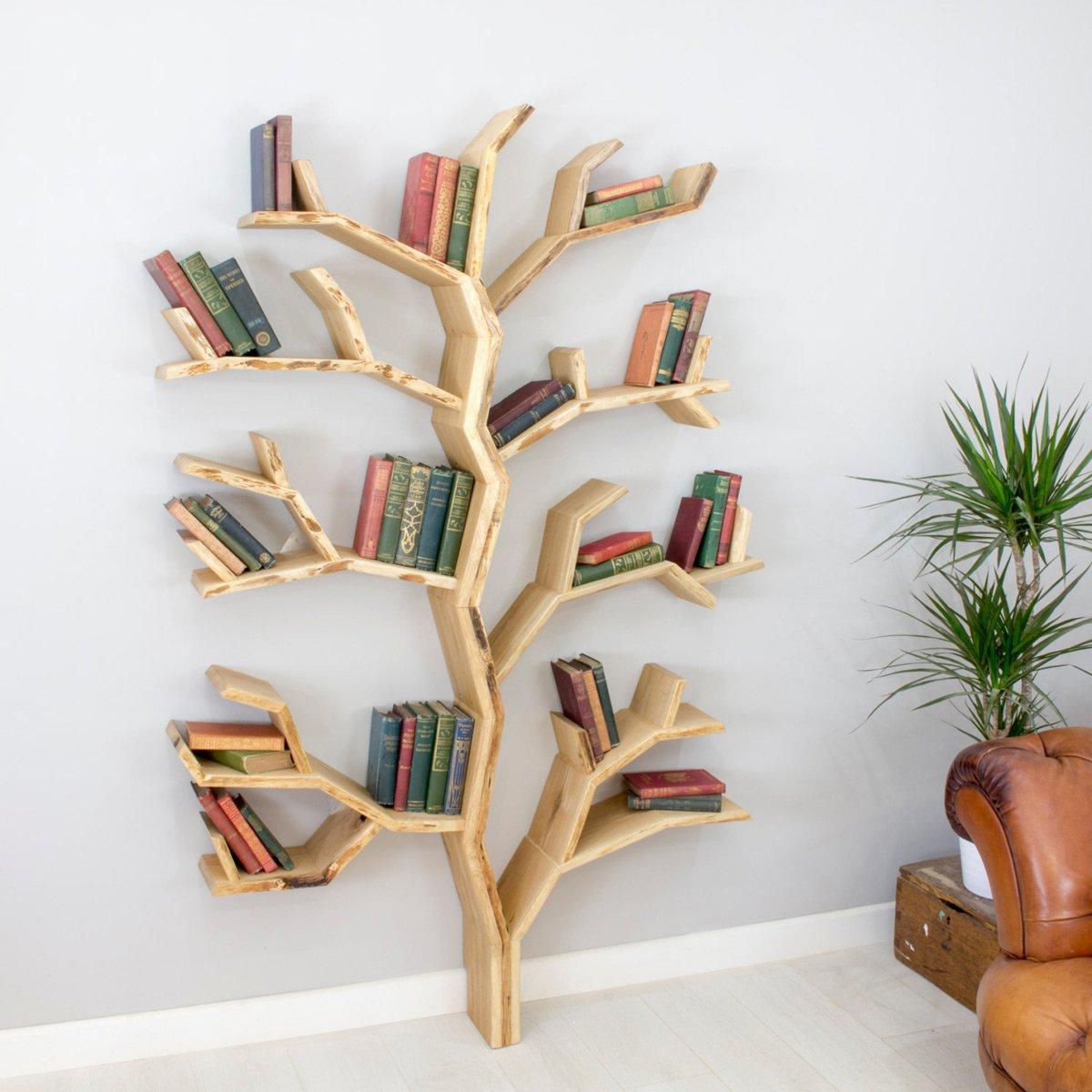 elm tree bookshelf - the green head