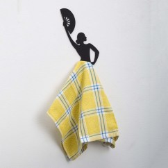 Kitchen Towel Hanger Rectangular Tables Flamenco Dancer