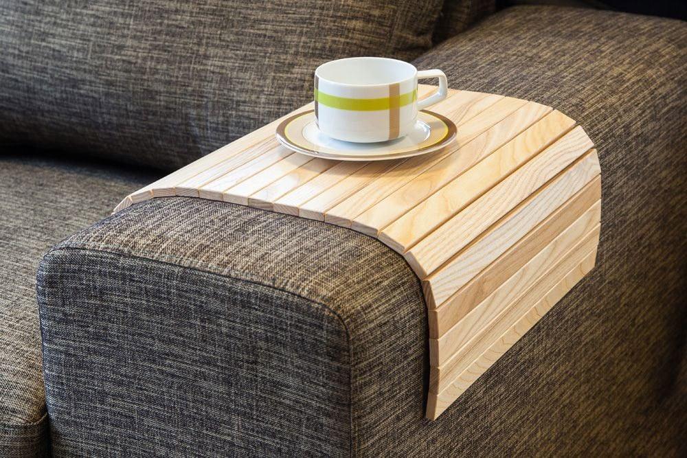 flexible wooden sofa armrest