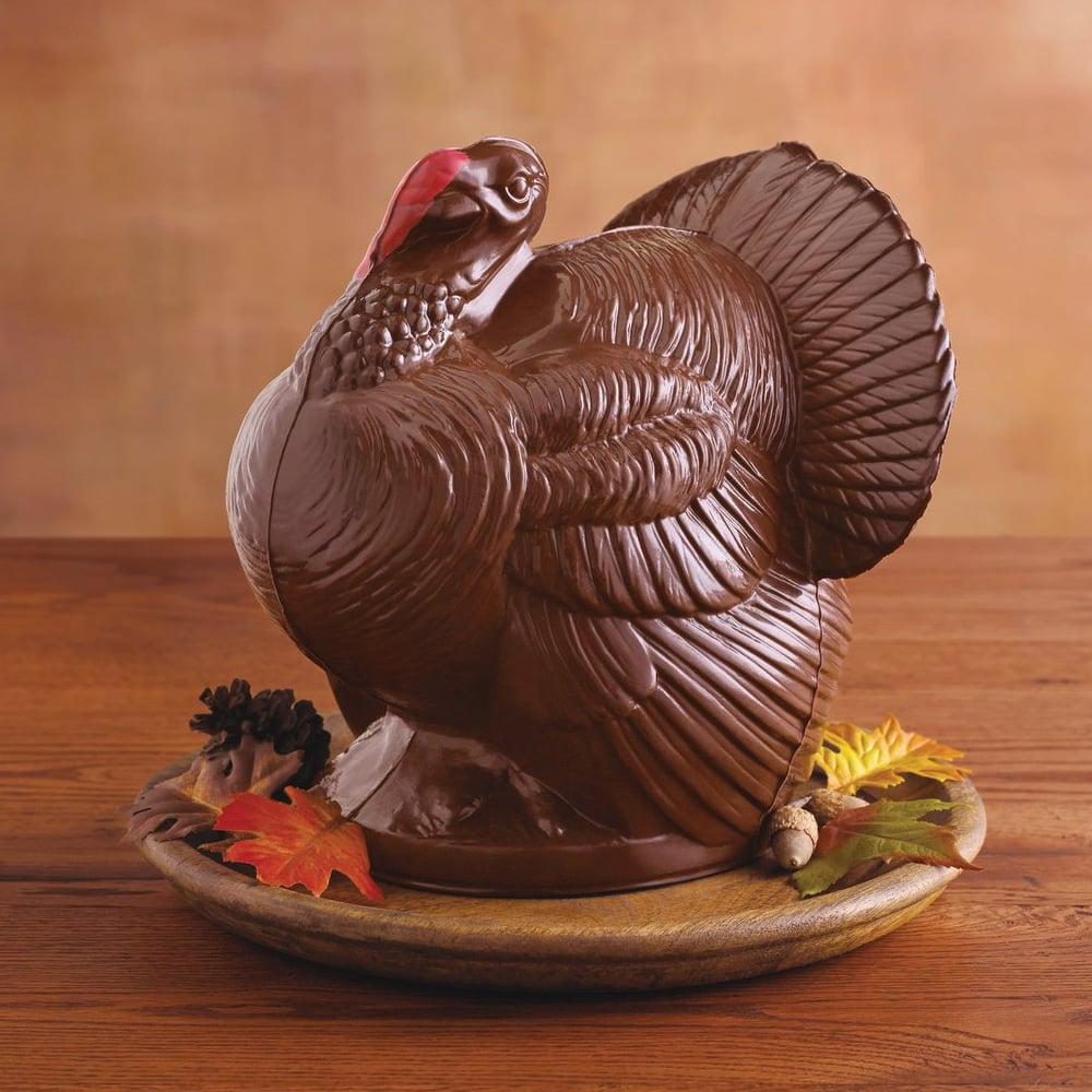 Giant Chocolate Turkey Thanksgiving Centerpiece  The