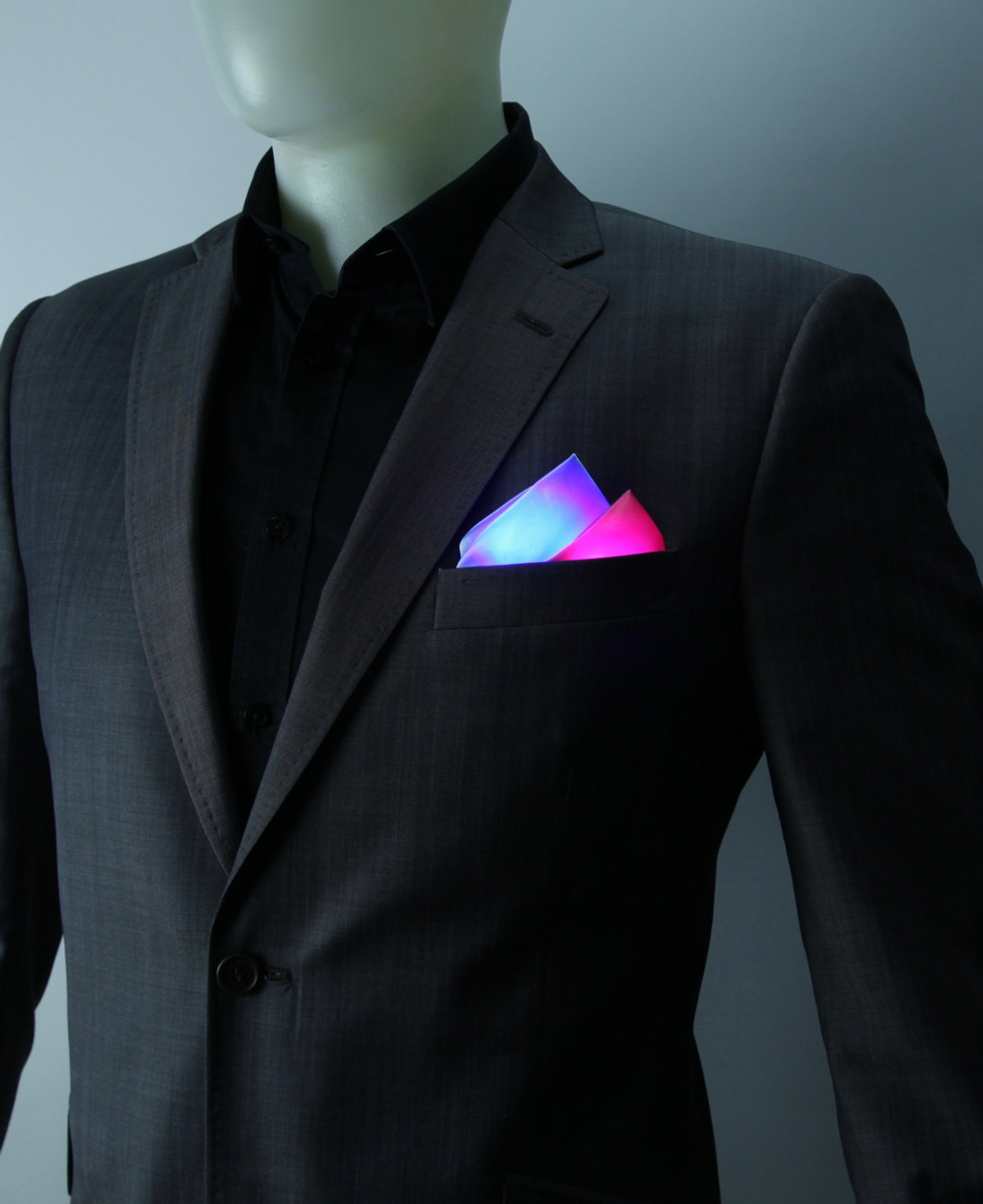 Glowing Bow Ties and Pocket Squares  The Green Head