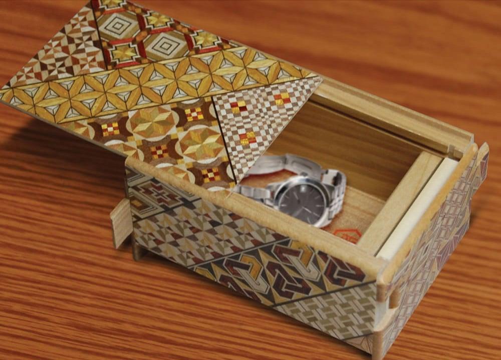 Himitsu Bako Japanese Puzzle Box