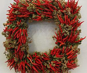 Square Boxwood Wreath The Green Head