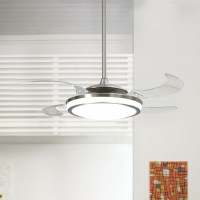 Hunter Fanaway - Retractable Blade Ceiling Fan / Pendant ...