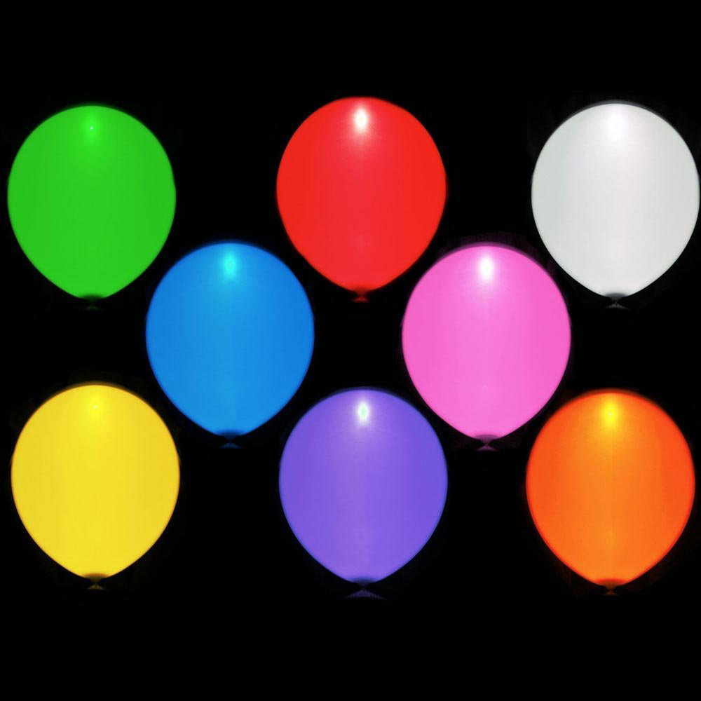 iLLooms  LED Light Up Balloons  The Green Head