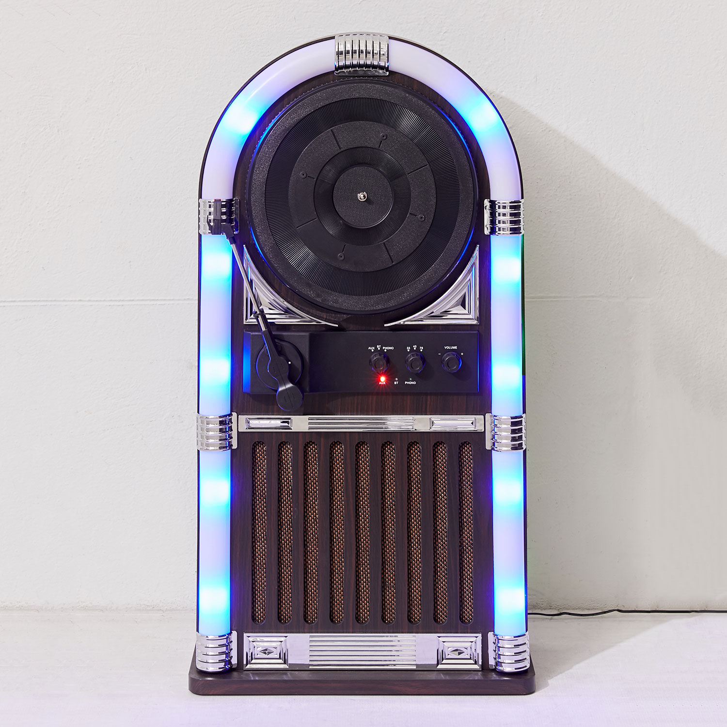 Record Player Built Speakers