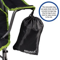 Kelsyus Canopy Chair with Removable Mosquito / Bug Net ...