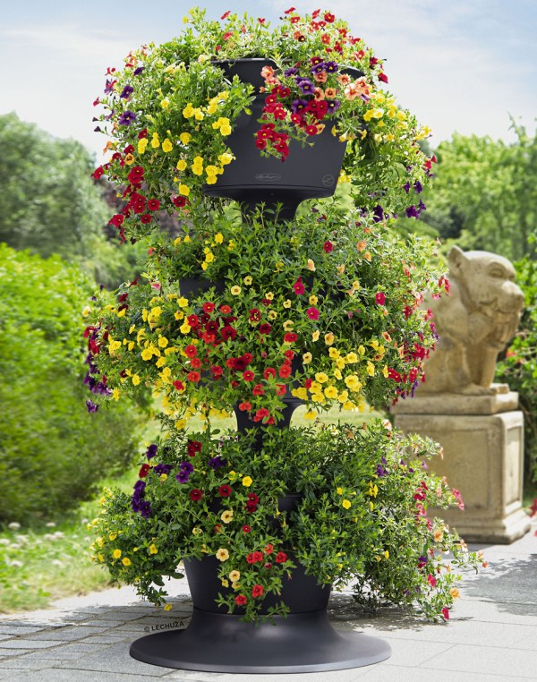 Lechuza Cascada - Stackable -watering Planters Green Head