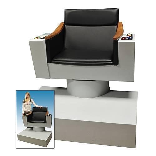 Lifesize Replica of Captain Kirks Chair from Star Trek