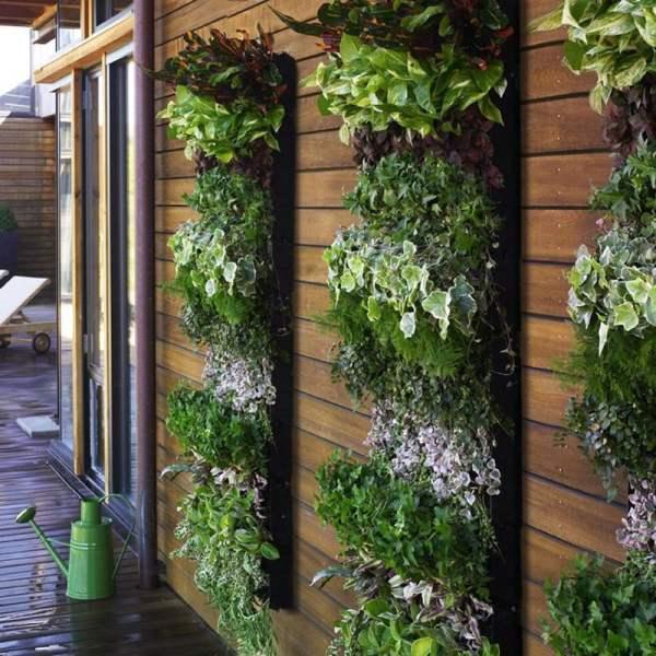 Living Wall Planter - Large Vertical Garden Green Head