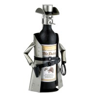 Metal Cowboy Wine Bottle Holder - The Green Head