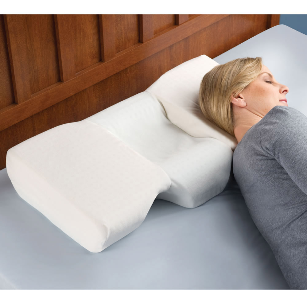 Neck Pain Relieving Pillow  The Green Head