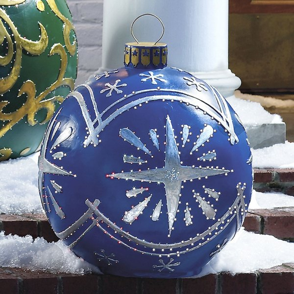 Outdoor Lighted Christmas Ornaments