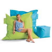 Outdoor Oversized Beanbag Chair - The Green Head