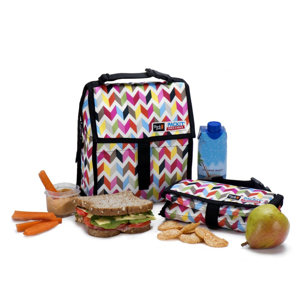PackIt - Freezable Lunch Bag - The Green Head