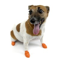 Pawz Natural Rubber Dog Boots - The Green Head