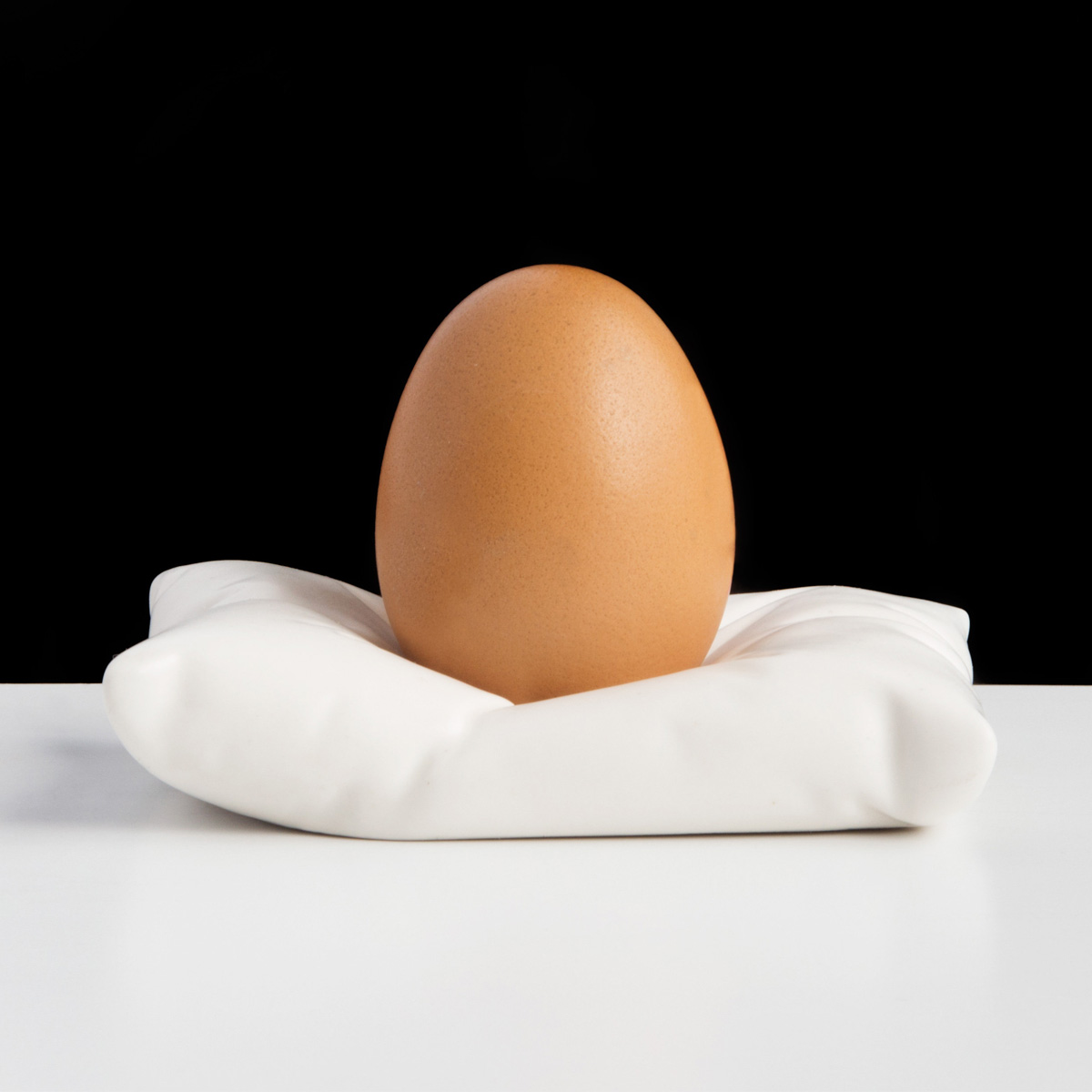 Pillow Egg Cup  The Green Head