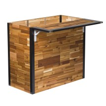 Plant-bar - Wooden Outdoor Bar And Planter