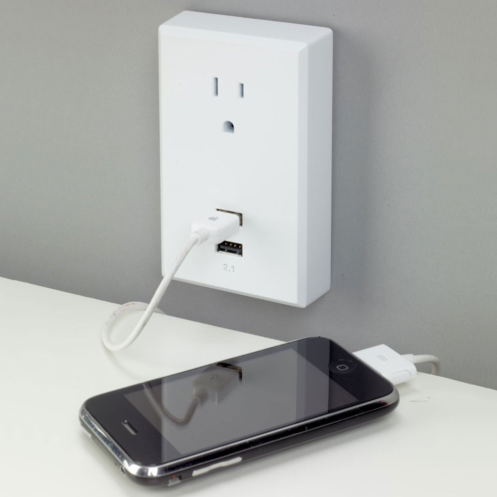 PlugIn USB Wall Outlets  The Green Head