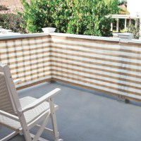 Privacy Screen For Deck, Porch, and Patio Railings