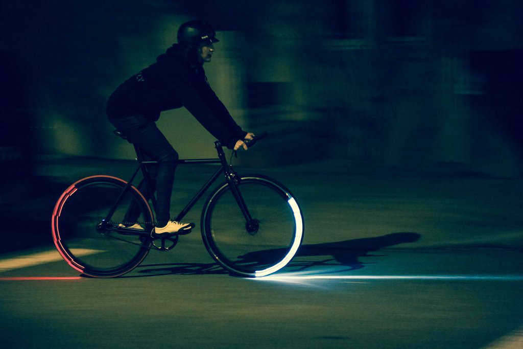RevoLights Skyline  Bicycle Lighting System  The Green Head