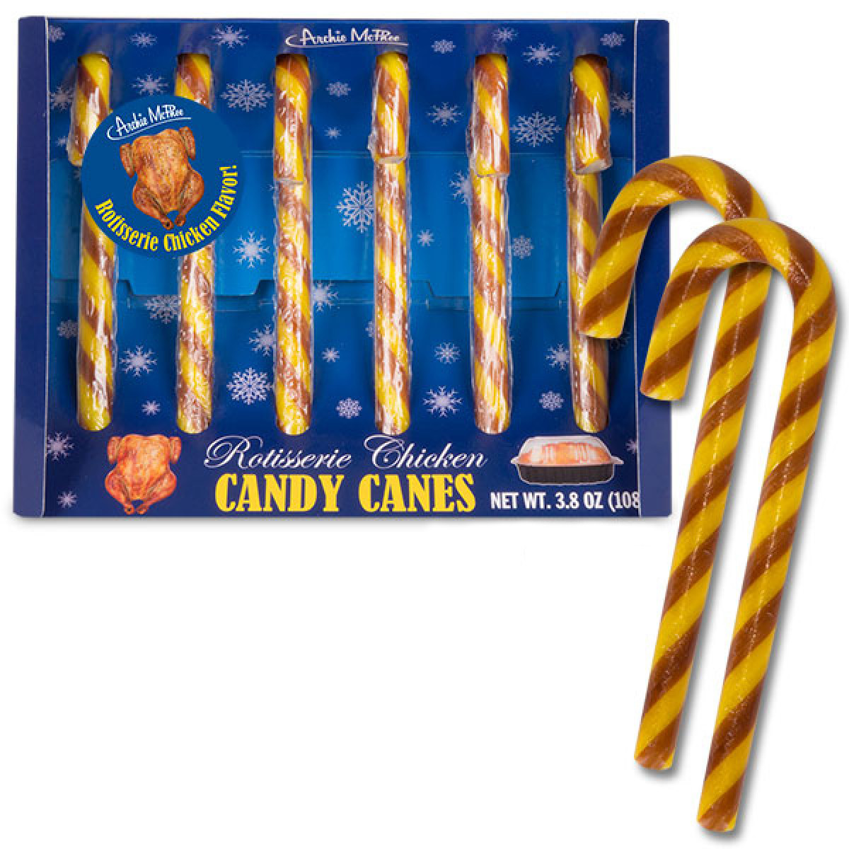 Rotisserie Chicken Candy Canes The Green Head