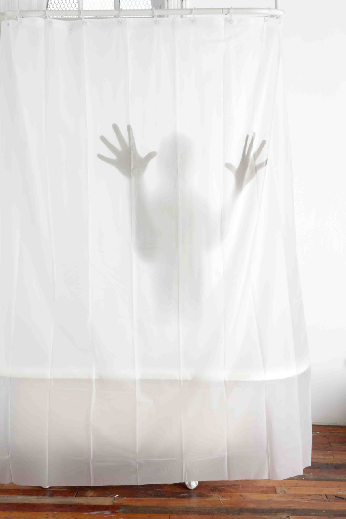 Scary shower curtain - Scary Shower Curtain The Green Head