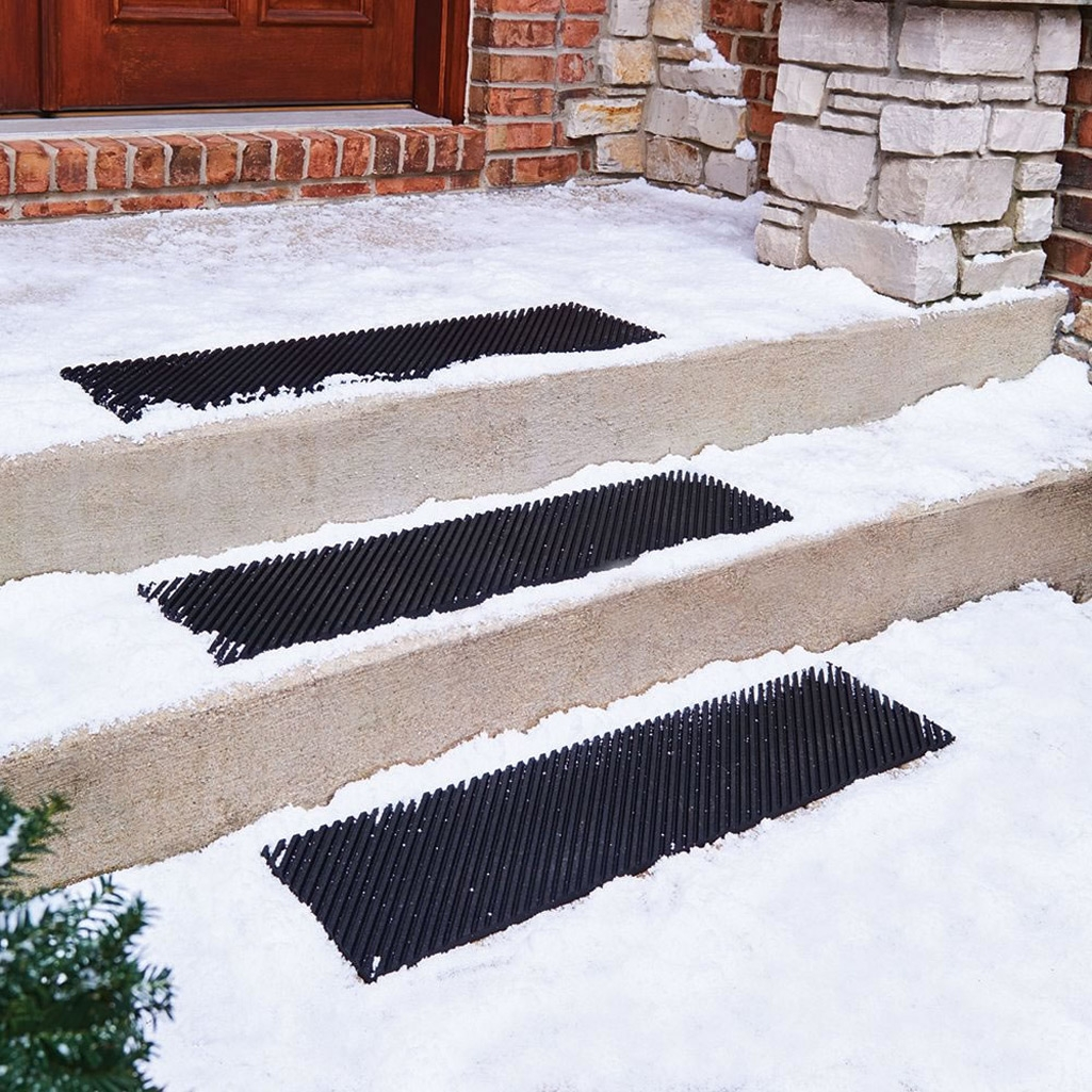 Secure Step Anti Slip Stair Treads   Outdoor Stair Treads For Ice   Non Slip   Carpet Stair   Blue Ice   Anti Slip Stair Nosing   Rubber Stair