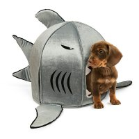 Self-Cleaning Shark Pet Bed - The Green Head