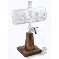 Ship-in-a-Bottle Whiskey Decanter - The Green Head