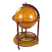 16th Century Italian Replica Globe Bar - The Green Head